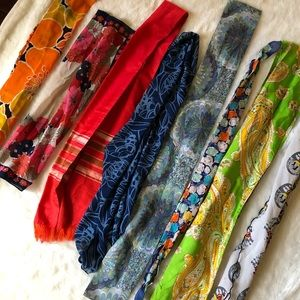 Accessories - Vintage sash and scarf bundle